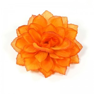 AB-107 Ansteckblume Dahlie, orange, 13 cm_a