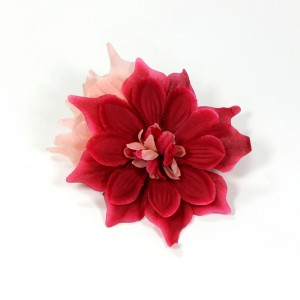 AB-109 Ansteckblume Dahlie, rot-pink, 16 cm_a