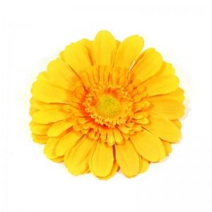 AB-113 Ansteckblume Gerbera, lemon, 12,5 cm_a