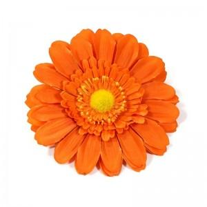 AB-114 Ansteckblume Gerbera, orange, 12,5 cm_a
