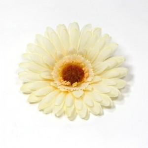 AB-129 Ansteckblume Gerbera, cremeweiss, 10 cm_a