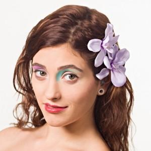 AB-132 Haarblüte, hellviolett, 9 cm_b