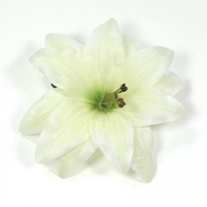 AB-137 Haarblüte Lilie, creme-mint, 12 cm_a