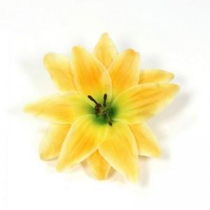 AB-138 Haarblüte Lilie, gelb, 12 cm_a