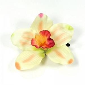 AB-141 Haarblüte Orchidee, grün, 9 cm_a