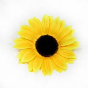 AB-145 Ansteckblume Sonnenblume, gelb, 13 cm_a