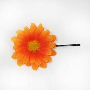 AB-159 Haarblüte Sommerblume, orange, 5,5 cm_a