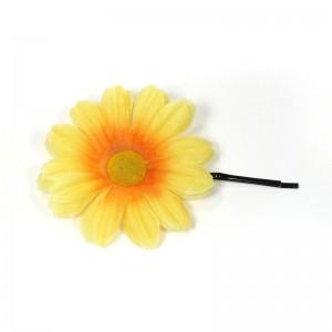 AB-160 Haarblüte Sommerblume, gelb, 5,5 cm_a