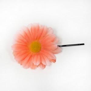 AB-161 Haarblüte Sommerblume, orange, 5,5 cm_a